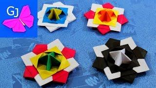 волчок из бумаги / Оригами из бумаги