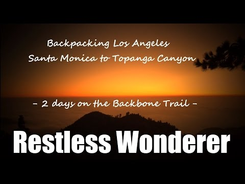 Backpacking Los Angeles - The Backbone Trail