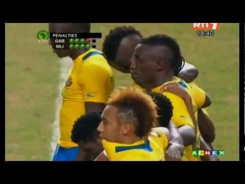 Orange Africa Cup Of Nations 2012 Gabon vs Mali 1-1 (Pen 4-5) All Goals & Full Highlights