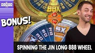 🎡 Jin Long 888 Spin 💰 Wheel Bonus @ Greektown Detroit ✪ BCSlots (S. 20 • Ep. 3)