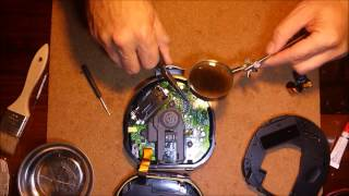 How to replace a Sony Walkman Discman CD player lens and pick-up assembly
