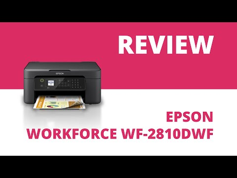 Epson WorkForce WF-2810DWF A4 Colour Multifunction Inkjet Printer