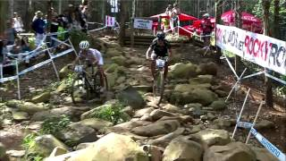 UCI MTB XC World Cup Women RPA 2012 - Maja overtaking