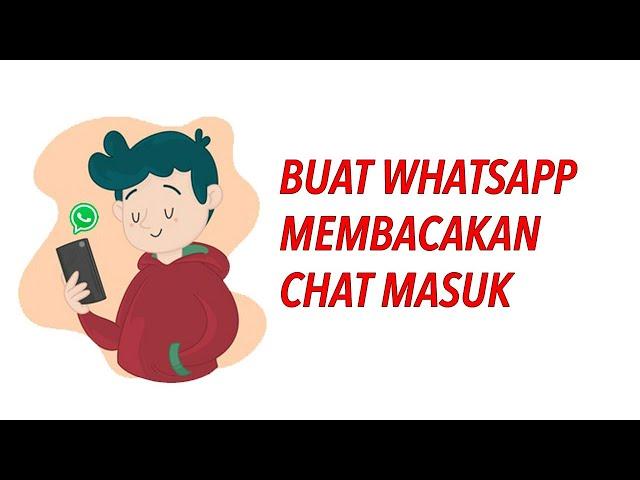 Buat Whatsapp Membaca Nama Pengirim Pesan Masuk