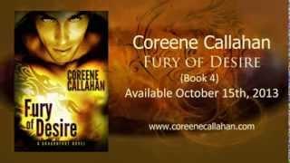 FuRY OF Desire (a Dragonfury Novel, book 4) -- by Coreene Callahan Official Book Trailer
