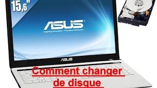 Comment changer disque dur pc portable►(TUTO)