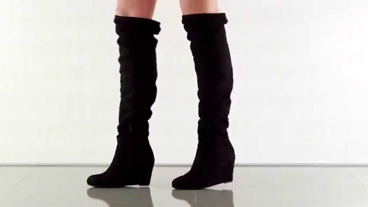 Upside in Black Micro Suede Chinese Laundry - YouTube