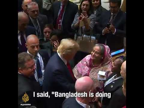 Bangladesh PM Sheikh Hasina didn't ask Donald J. Trump for help with Rohingya refugees. Here's why.