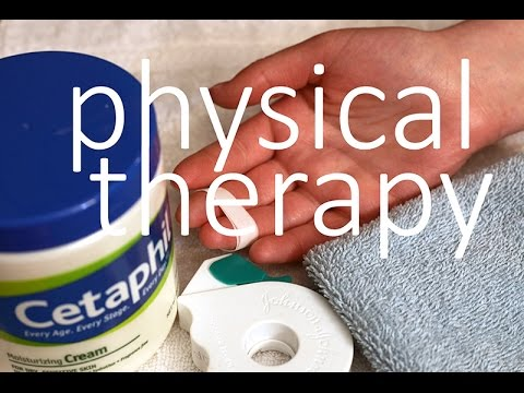 ASMR (Whispering) Soothing Physical Therapy Exercises for Hand