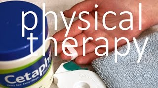 asmr whispering soothing physical therapy exercises for hand