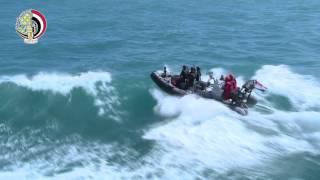 """المتحدث العسكرى يعرض فيديو للمناورة البحرية """"ذات الصوارى"""""""