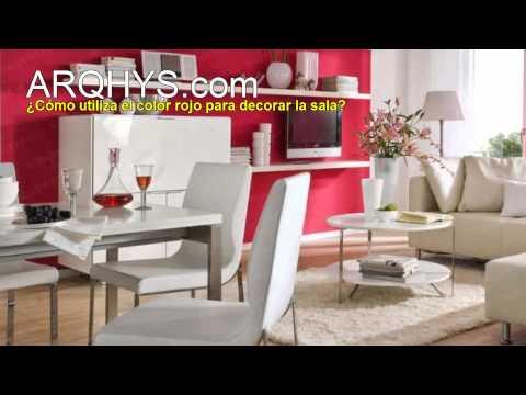 Cmo decorar una casa Sala cocina habitacin bao