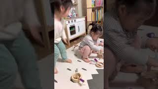 [장난감] 연년생 자매 피에스타 원목 주방놀이 프리미엄…