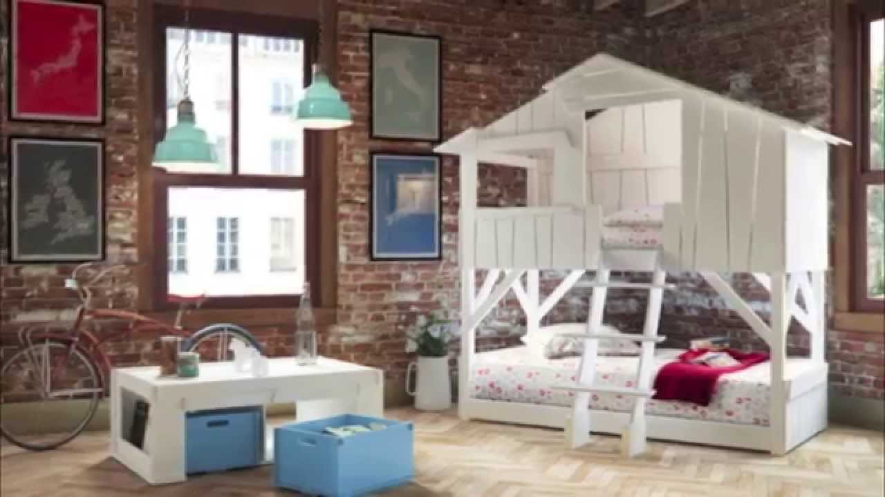 Mathy by Bols Treehouse bed - YouTube