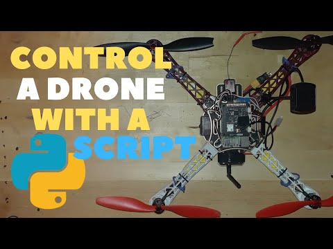Code a Drone to Fly with only a Python Dronekit Script