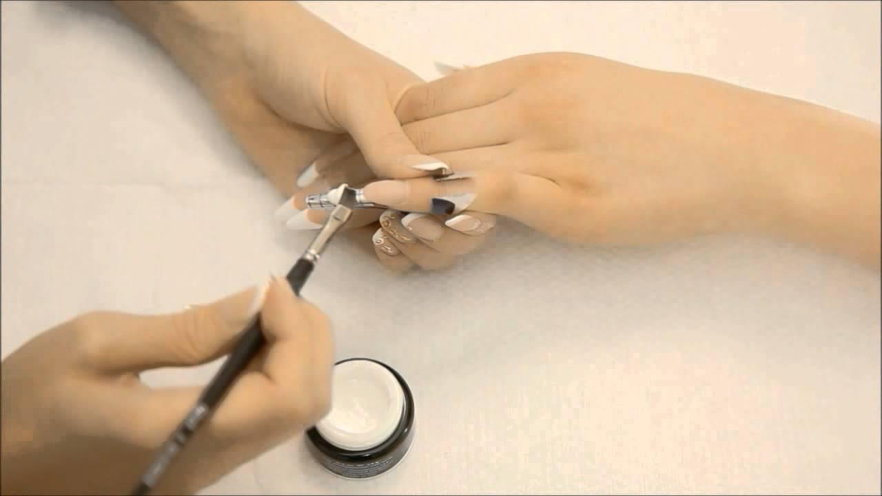 Инструкция по наращивания ногтей