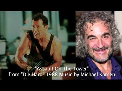 """Die Hard Soundtrack """"Assault On The Tower"""". Music Composed By Michael Kamen"""