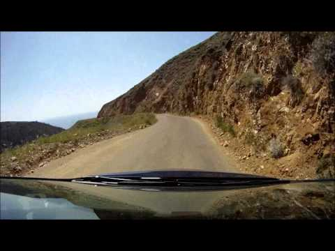 Driving Nacimiento-Fergusson Road
