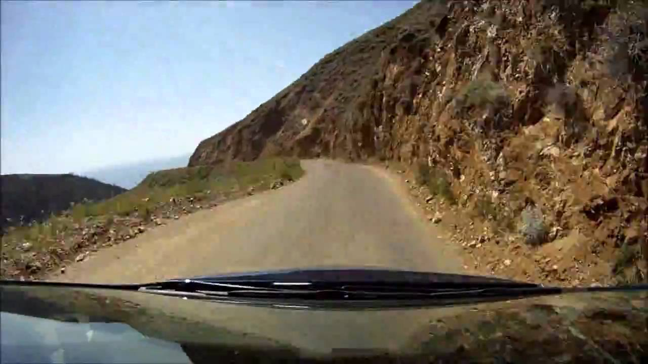 Driving Nacimiento Fergusson Road YouTube