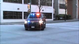 Vancouver Police Department K-9 Unit Responding