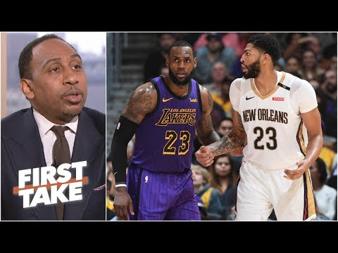 Anthony Davis will be a Laker either via trade or free agency – Stephen A.   First Take