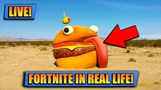 FORTNITE FOUND IN REAL LIFE // FORTNITE LIVE // PLAYING WITH SUBS