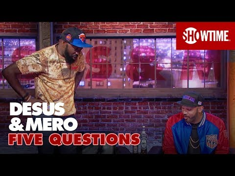 Embarrassing Stories & Storming Area 51  5 Questions w DESUS & MERO  SHOWTIME