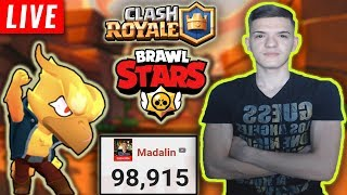 🔴[LIVE SPECIAL] PUTEM SA FACEM 100k IN SEARA ACEASTA? Brawl Stars & Clash Royale
