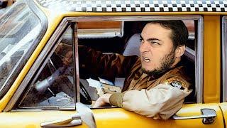 Çılgın Taksi Sürücüsü Trafikte!