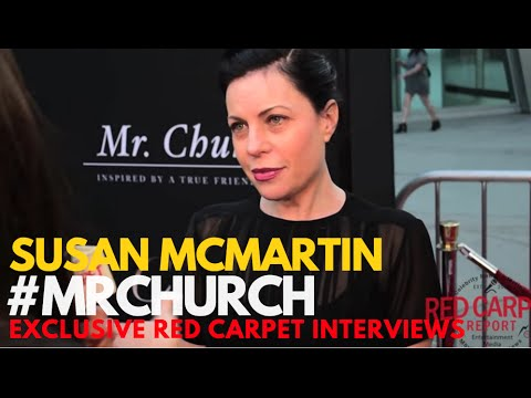 Susan McMartin ed at the Red Carpet Premiere of Mr. Church MrChurch