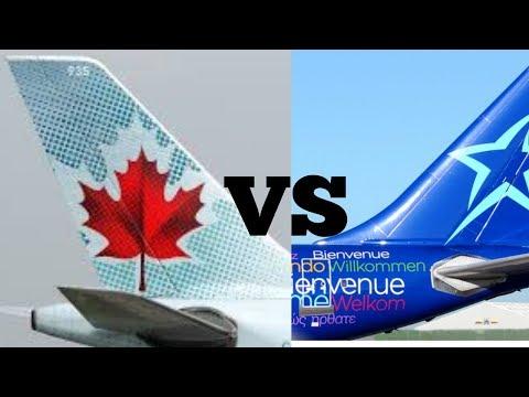 Air Canada Vs. Air Transat