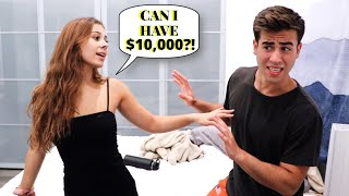 Acting Like A GOLD DIGGER To See How My BOYFRIEND Reacts!