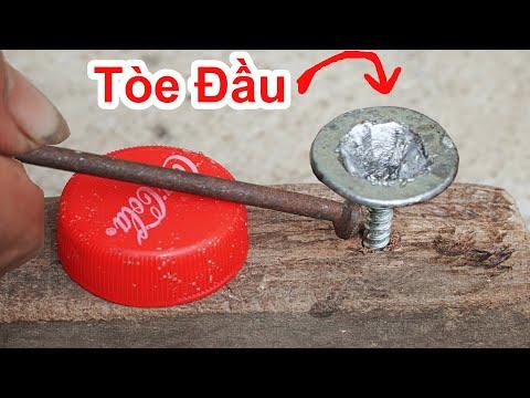 Cách Lấy Ốc Vít Bị TÒE ĐẦU Cực Hay & Rất Đơn Giản /Mẹo Gỡ Ốc Bị Loe Đầu Dính Cứng.how get old screws
