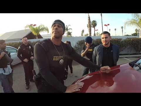 Arresting Davila