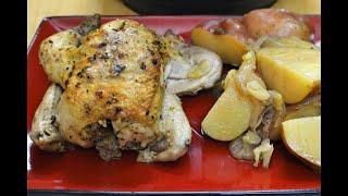 Instant Pot Mini (3qt) Cornish Hen with Potatoes and Gravy