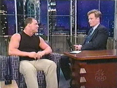Kurt Angle on Conan O'Brien [20th June 2001]