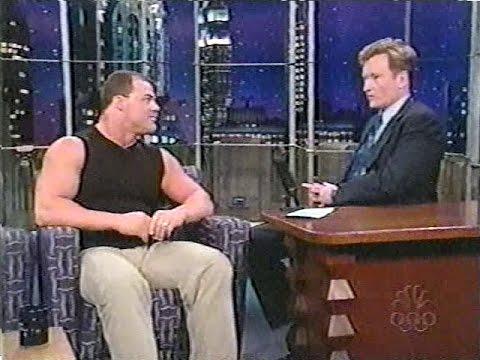 Kurt Angle on Conan O'Brien [20th June 2001]