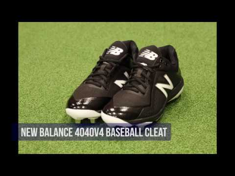 23cb5a0273c93 New Balance 4040v4 Low Men's Baseball Cleat Review - YouTube