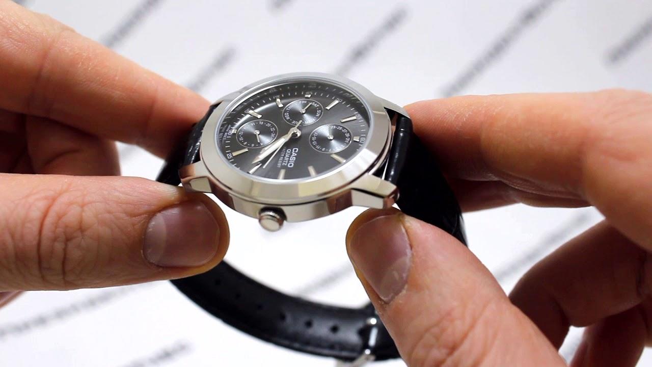 Часы Casio MTP-1192E-1A [MTP-1192E-1AEF] - видео обзор от ...