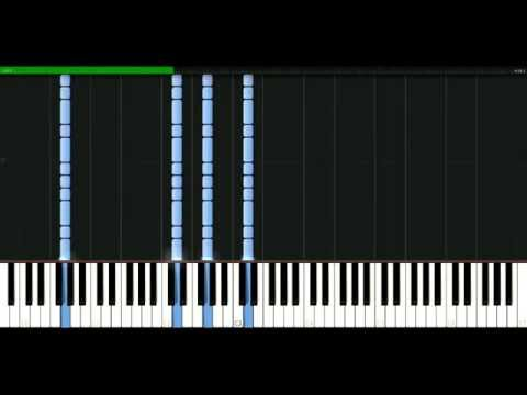 Foo Fighters  All my life Piano Tutorial Synthesia  passkeypiano