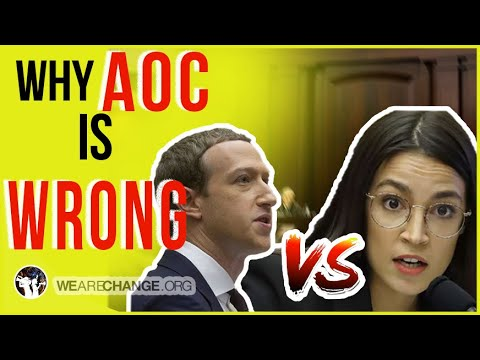 Zuckerberg's Policies Are Scary! But AOC Took It To A New Level!