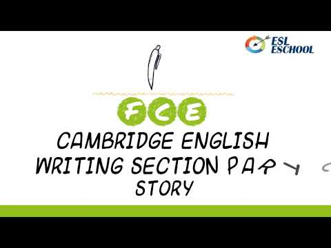 How to write a short story for B2 First for Schools Exam