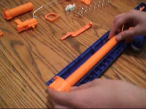 SOLVED: My kid opened the Nerf N-strike Recon CS-6, loaded