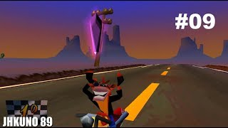 NIVEL EN MOTO! MUNDO 5 DIFICIL? | CRASH BANDICOOT 3: WARPED! Gameplay comentado parte 9