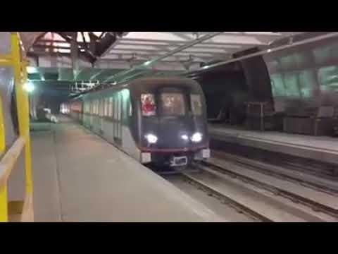 Linea 3 Metro De Santiago Caf As14 En FCV 2018