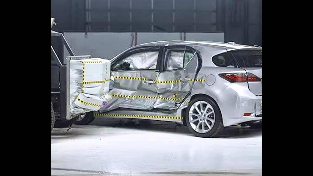 iihs 2011 lexus ct 200h side crash test good. Black Bedroom Furniture Sets. Home Design Ideas