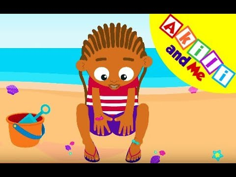 Count Fingers And Toes | Learn Your 123s | African Educational Cartoons