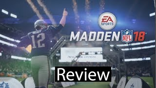 Madden NFL 18 Xbox One X Gameplay Review