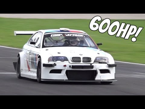 Hop Inside This Supercharged M3 Time Attack Car as It Gets Pushed to the Limit