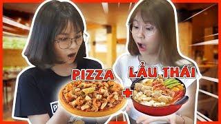 Pizza lẩu tomyum. Misthy và Xía kể chuyện đánh rắm khi ăn cùng crush || MISTHY VÀ CÁC BẠN